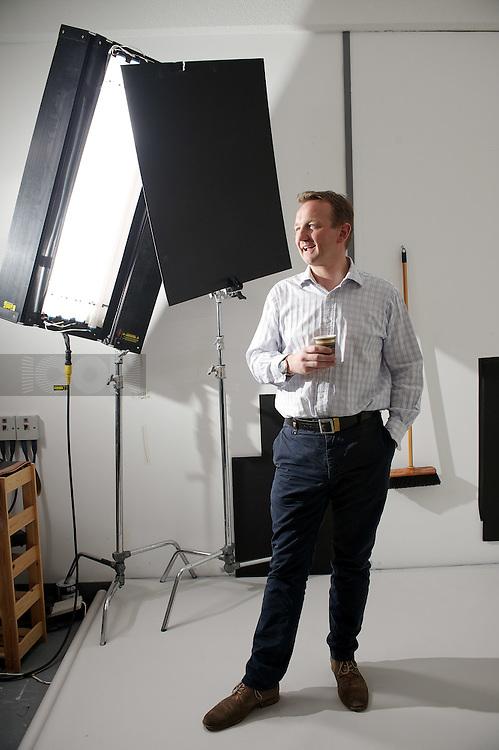 Picture by Matt Gore/iconphotomedia.CFO Magazine.Nick Beighton ASOS Head Office Mornington Cresent, London