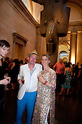 Tate Summer Party. Celebrating the opening of the  Fiona Banner. Harrier and Jaguar. Tate Britain. Annual Duveens Commission 29 June 2010. -DO NOT ARCHIVE-© Copyright Photograph by Dafydd Jones. 248 Clapham Rd. London SW9 0PZ. Tel 0207 820 0771. www.dafjones.com.
