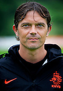 NETHERLANDS, HOENDERLOO : Dutch international assisent Coach Phillip Cocu in Hoenderloo on May 31, 2012. AFP PHOTO/ ROBIN UTRECHT