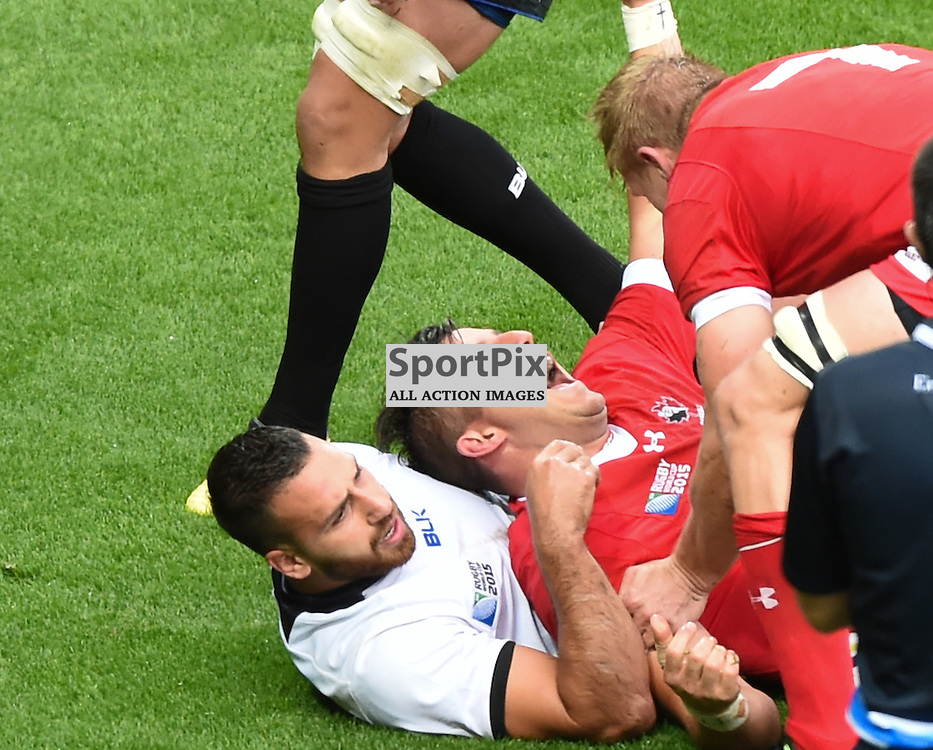 DTH van Der Merwe goes over for Canada's first try (c) Simon Kimber | SportPix.org.uk