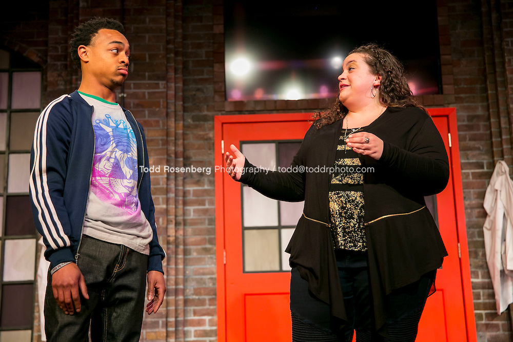 2/18/16 8:50:56 PM -- The Second City Presents<br /> #DateMe an OK Cupid Experiment<br /> <br /> &copy; Todd Rosenberg Photography 2016