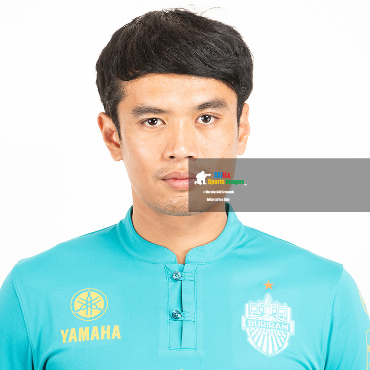 THAILAND - JUNE 26: Siwarak Tedsungnoen #1 of Buriram United on June 26, 2019.<br /> .<br /> .<br /> .<br /> (Photo by: Naratip Golf Srisupab/SEALs Sports Images/MB Media Solutions)