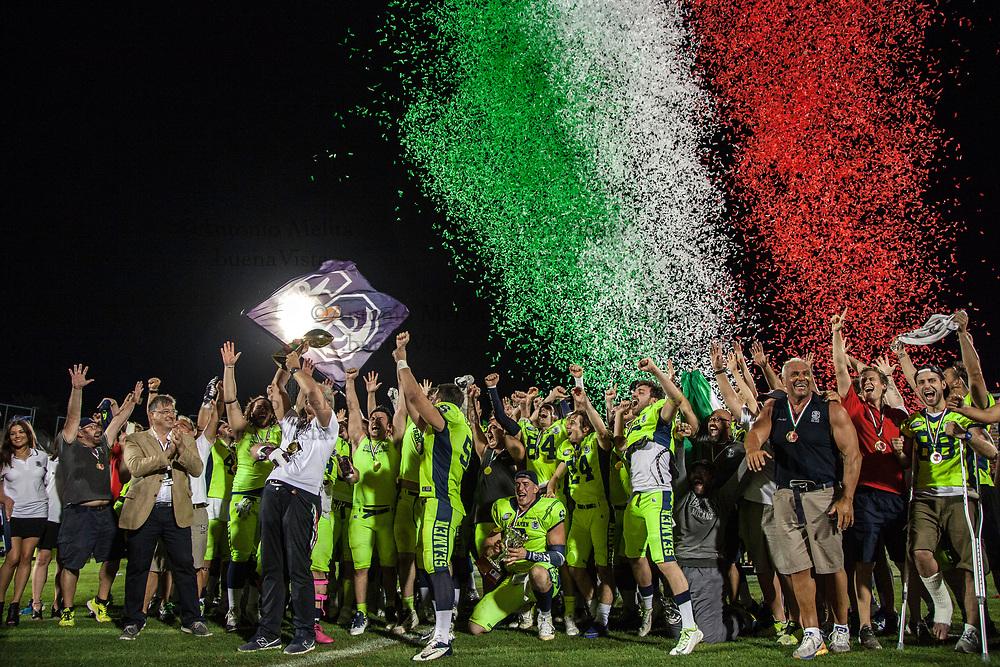 I Seamen vincono la finale-derby contro i Rhinos e conquistano l'Italian Bowl 2017.