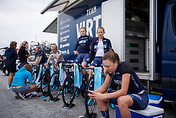 Christina Siggaard (DEN) at Ladies Tour of Norway 2018 Team Time Trial, a 24 km team time trial from Aremark to Halden, Norway on August 16, 2018. Photo by Sean Robinson/velofocus.com