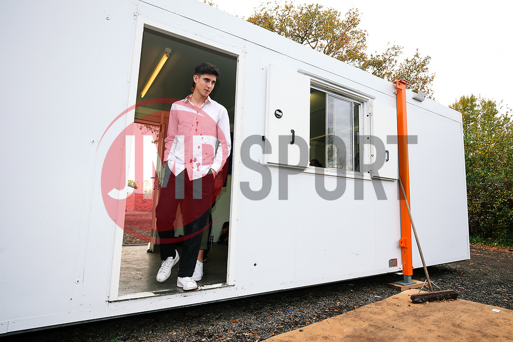 Callum O'Dowda looks on as Bristol City players visit FEAR at Avon Valley's Halloween Scare Mazes - Rogan/JMP - 25/10/2017 - Avon Valley Adventure and Wildlife Park - Bristol, England.