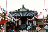 Temple outside Tokyo Japan