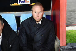 February 21, 2019 - Naples, Naples, Italy - Head Coach of FC Zurich Ludovic Magnin during the UEFA Europa League Round of 32 Second Leg match between SSC Napoli and FC Zurich at Stadio San Paolo Naples Italy on 21 February 2019. (Credit Image: © Franco Romano/NurPhoto via ZUMA Press)