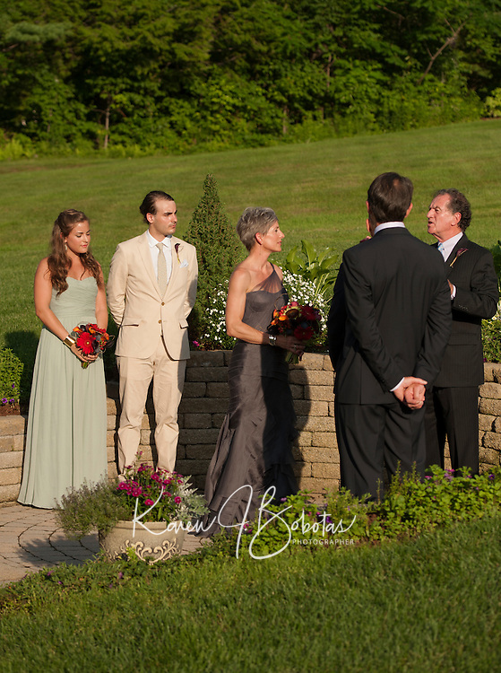 Pruiksma / D'Elia Wedding at Pat's Peak in Henniker, NH Saturday, July 6, 2013.  © Karen Bobotas Photographer.