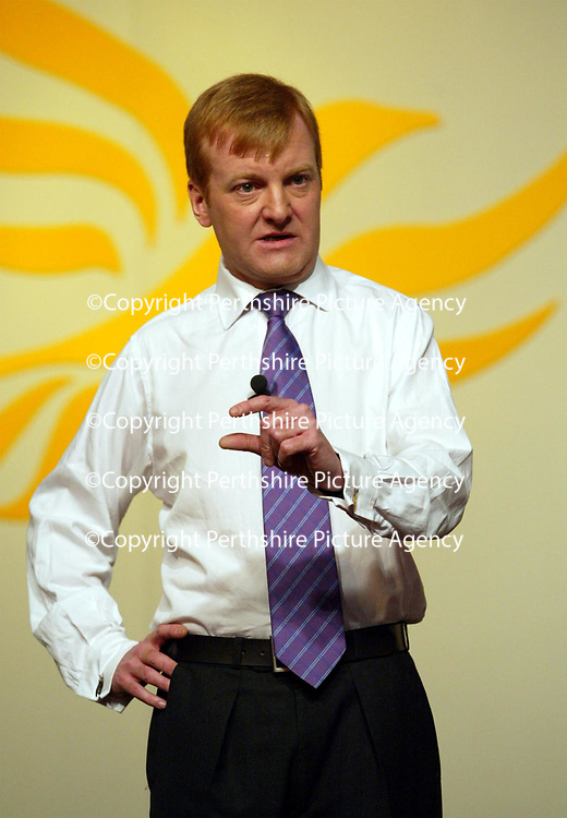 Scottish Liberal Democrats conference...19.4.2002.<br />