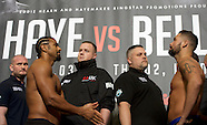 David Haye and Tony Bellew Weigh In 030317