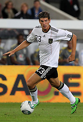 GER, Commerzbank Arena, GER, Stuttgart, FSP, LS, Deutschland (GER) vs Brasilien (BRA), im Bild .. Mario Gomez (GER/FC Bayern München) // durch the friendly ship between Germany (GER) vs Brasil (BRA) in Commerzbank Arena, Stuttgart, on 2011/08/11 EXPA Pictures © 2011, PhotoCredit: EXPA/ nph/  Hessland       ****** out of GER / CRO  / BEL ******