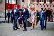 Royals at the presentation of the Four Freedoms Awards - Netherlands16 May 2018