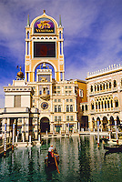 The Venetian Resort Hotel and Casino, Las Vegas Boulevard (The Strip), Las Vegas, Nevada USA