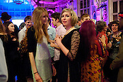 EMILIA MCLAUGHLIN; FLO PERRY, Grayson Perry 50th birthday party. Finsbury Town Hall. London. 26 March 2010