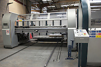 Loading platform for a Salvernini CAM sheet metal folding machine
