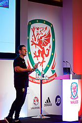 NEWPORT, WALES - Sunday, May 20, 2018: Tony Strudwick during day three of the Football Association of Wales' National Coaches Conference 2018 at the Celtic Manor Resort. (Pic by David Rawcliffe/Propaganda)