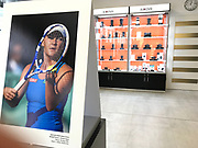Poland, Cracow - 2017 June 28: Photo Exhibition Big Blue by &copy; Adam Nurkiewicz at Think Tank section in Proclub Store on June 28, 2017 in Cracow, Poland.<br /> <br /> Mandatory credit:<br /> Photo by &copy; Adam Nurkiewicz<br /> <br /> Adam Nurkiewicz declares that he has no rights to the image of people at the photographs of his authorship.<br /> <br /> Picture also available in RAW (NEF) or TIFF format on special request.<br /> <br /> Any editorial, commercial or promotional use requires written permission from the author of image.