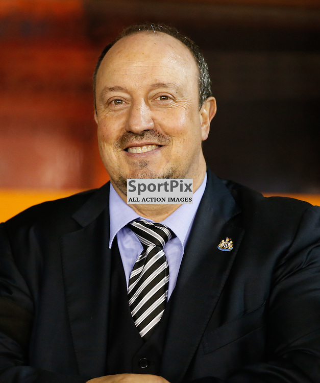 NOTTINGHAM, UNITED KINGDOM 02 DECEMBER 2016:  Newcastle Manager Rafael Benitez before the league game between Nottingham Forest and Newcastle United in the Football League Championship at the City Ground, on December 02, 2016 in Nottingham, England. (Photo by Michael Poole)