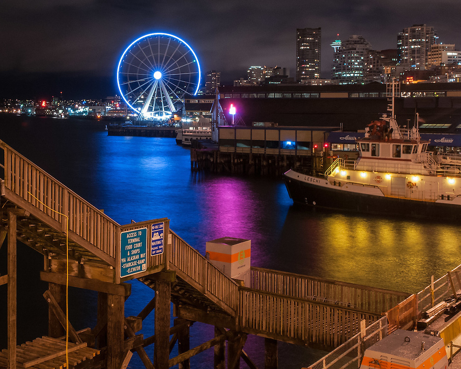 Photographed in Seattle at the ferry terminal