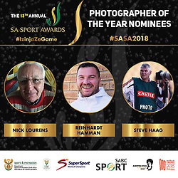 Nomination for the 2018 SA Sport Awards