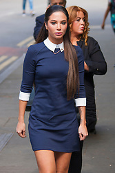 London, June 24th 2014. Ex X-Factor judge and N-Dubz singer Tulisa Contostavlos arrives at Southwark Crown Court in London where she faces drugs charges arising from a newspaper sting.