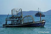 fish traps, Phuket, Thailand ( Andaman Sea, Indian Ocean )
