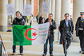 Algeria Stock Exchange Protest