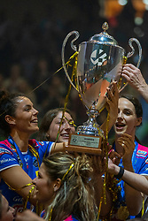 18-05-2019 GER: CEV CL Super Finals Igor Gorgonzola Novara - Imoco Volley Conegliano, Berlin<br /> Igor Gorgonzola Novara take women's title! Novara win 3-1 / Erblira Bici #13 of Igor Gorgonzola Novara