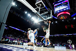 Edgaras Ulanovas of Lithuania during basketball match between National Teams of Lithuania and Greece at Day 10 in Round of 16 of the FIBA EuroBasket 2017 at Sinan Erdem Dome in Istanbul, Turkey on September 9, 2017. Photo by Vid Ponikvar / Sportida