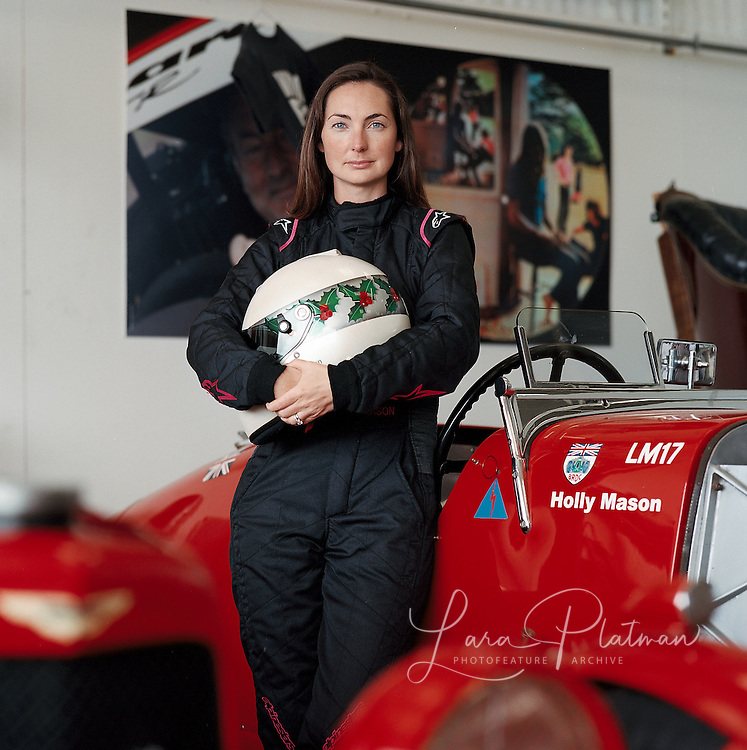 Holly Mason, with Alfa Romeo, Aston Martin Motors TV, Goodwood TV,