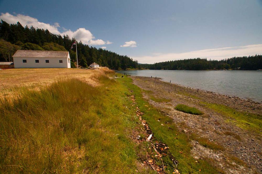 Bunk House at English Camp, San Juan Island, Washington, US
