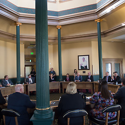031218 - Governor Sandoval meets with superintendents in Carson City for The Nevada Independent