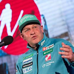 20180328: SLO, Nordic Ski - Press conference of Slovenian Ski Jumping Men Team