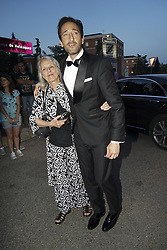 July 12, 2018 - Madrid, Spain - Adrien Brody and his mother Sylvia Plachy attend Vogue 30th Anniversary Party at Casa Velazquez on July 12, 2018 in Madrid, Spain. (Credit Image: © Oscar Gonzalez/NurPhoto via ZUMA Press)