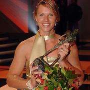 NLD/Amsterdam/20051222 - NOC / NSF Sportgala 2005, gehandicpte sporter van het jaar Esther Vergeer