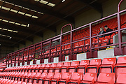 Barnsley fans arrive at Oakwell during the EFL Sky Bet Championship match between Barnsley and Burton Albion at Oakwell, Barnsley, England on 29 April 2017. Photo by Richard Holmes.
