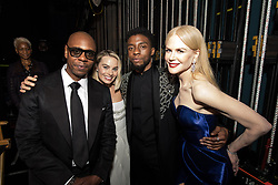 March 4, 2018 - Hollywood, California, U.S. - DAVE CHAPELLE, MARGOT ROBBIE, CHADWICK BOSEMAN and NICOLE KIDMAN backstage during the live ABC Telecast of The 90th Oscars at the Dolby Theatre in Hollywood. (Credit Image: ? Matt Petit/AMPAS via ZUMA Wire/ZUMAPRESS.com)