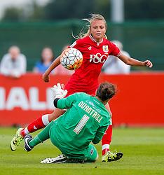 Claire Emslie of Bristol City Women scores a goal to make it 2-1 - Mandatory byline: Rogan Thomson/JMP - 09/07/2016 - FOOTBALL - Stoke Gifford Stadium - Bristol, England - Bristol City Women v Milwall Lionesses - FA Women's Super League 2.