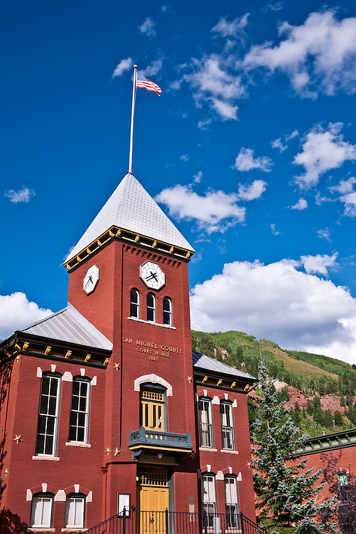 San Miguel County Court House, Telluride, Colorado