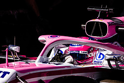 February 28, 2019 - Montmelo, BARCELONA, Spain - Lance Stroll from Canada with 18 SportPesa Racing Point F1 Team in action during the Formula 1 2019 Pre-Season Tests at Circuit de Barcelona - Catalunya in Montmelo, Spain on February 28. (Credit Image: © AFP7 via ZUMA Wire)