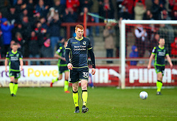 Rory Gaffney of Bristol Rovers cuts a dejected figure - Mandatory by-line: Robbie Stephenson/JMP - 02/04/2018 - FOOTBALL - Highbury Stadium - Fleetwood, England - Fleetwood Town v Bristol Rovers - Sky Bet League One