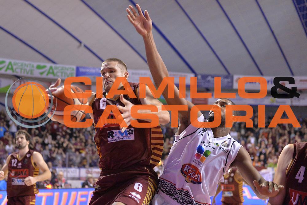 Michael Bramos<br /> Umana Reyer Venezia - Pasta Reggio Caserta<br /> Lega Basket Serie A 2016/2017<br /> Venezia 27/11/2016<br /> Foto Ciamillo-Castoria