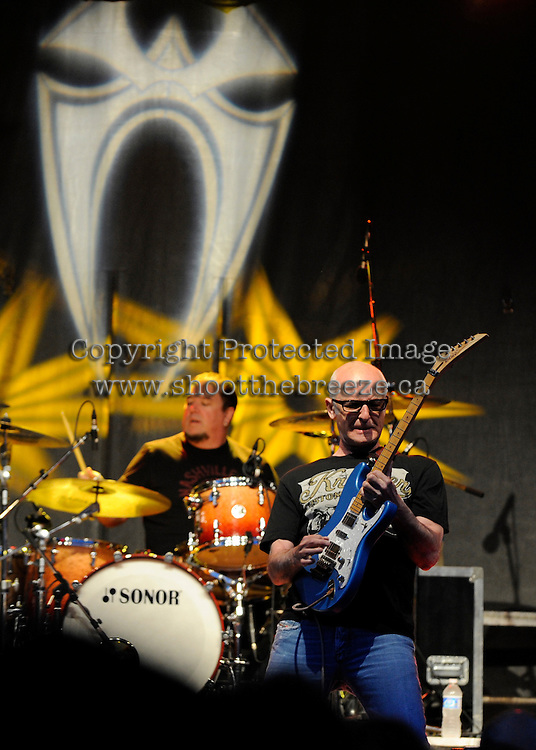 Kim Mitchell takes to the stage at the annual Kreater Ride n' Rock in Kelowna, B.C.