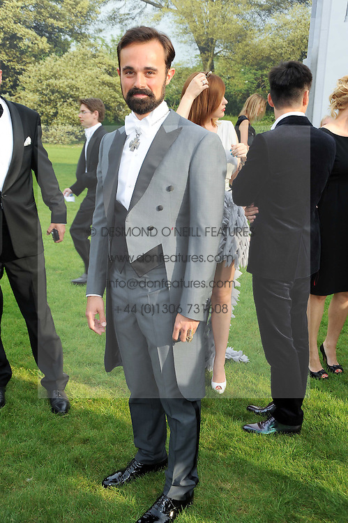 EVGENY LEBEDEV at the Raisa Gorbachev Foundation Party held at Stud House, Hampton Court Palace on 5th June 2010.  The night is in aid of the Raisa Gorbachev Foundation, an international fund fighting child cancer.