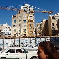 A street scene in Beirut, Lebanon.