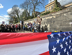 Gun control demonstration at US Consulate | Edinburgh | 24 March 2018