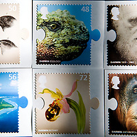 11-02-09 Charles Darwin Stamps