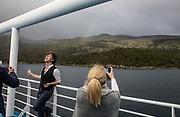 Patagonia, cruising with Ventus Australis. Isla Navarino, Mirador Bahia Wulaia