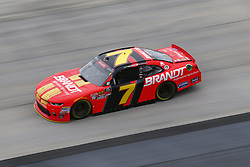 October 5, 2018 - Dover, Delaware, United States of America - Justin Allgaier (7) takes to the track to practice for the Bar Harbor 200 at Dover International Speedway in Dover, Delaware. (Credit Image: © Justin R. Noe Asp Inc/ASP via ZUMA Wire)