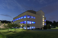 Exterior image of Qiagen Campus in Germantown MD by Jeffrey Sauers of Commercial Photographics, Architectural Photo Artistry in Washington DC, Virginia to Florida and PA to New England